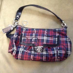 Coach Poppy Tattersall Shoulder Bag
